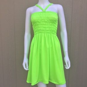 Dresses & Skirts - Neon Sun Dress Bathing Suit Cover